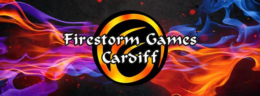 Firestorm Games Cardiff Logo