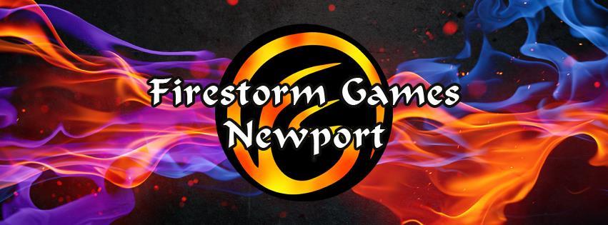 Firestorm Games Newport Logo