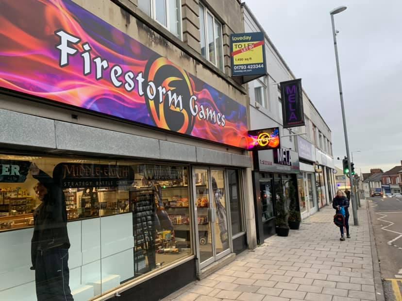 Firestorm Games Swindon